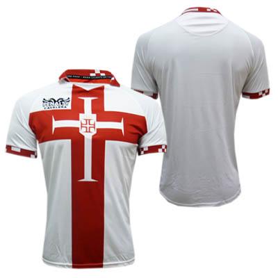 """5977319593fc4 """"Essa camisa é fruto de um trabalho feito a oito mãos  do Vasco"""